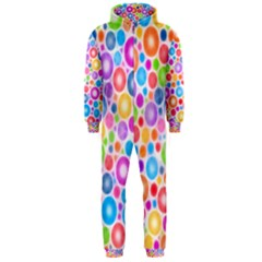 Candy Color s Circles Hooded Jumpsuit (Men)