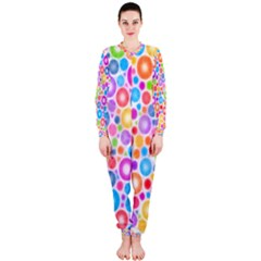Candy Color s Circles OnePiece Jumpsuit (Ladies)