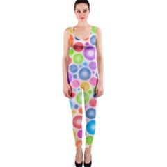 Candy Color s Circles OnePiece Catsuit