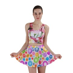 Candy Color s Circles Mini Skirts