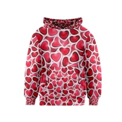 Candy Hearts Kid s Pullover Hoodie