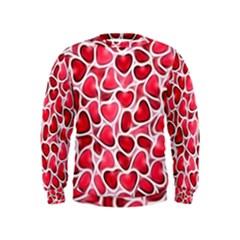 Candy Hearts Kid s Sweatshirt