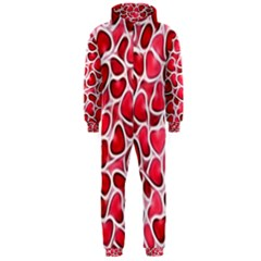 Candy Hearts Hooded Jumpsuit (Men)