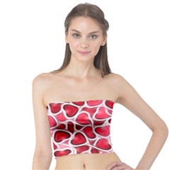 Candy Hearts Women s Tube Tops