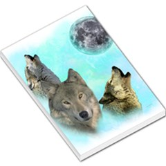 Wolves Shiney Grim Moon 3000 Large Memo Pads