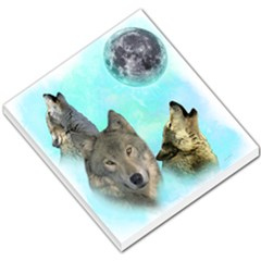Wolves Shiney Grim Moon 3000 Small Memo Pads