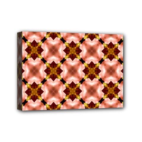 Cute Pretty Elegant Pattern Mini Canvas 7  X 5