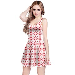 Cute Pretty Elegant Pattern Reversible Sleeveless Dresses
