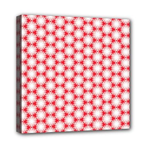 Cute Pretty Elegant Pattern Mini Canvas 8  X 8