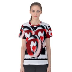 Heart Time 3 Women s Cotton Tees