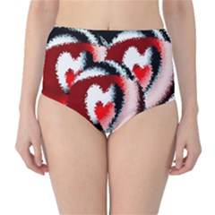 Heart Time 3 High-Waist Bikini Bottoms