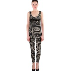 Tile Reflections Alien Skin Dark Onepiece Catsuits