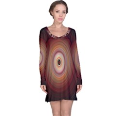 Colour Twirl Long Sleeve Nightdresses