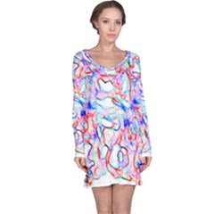 Soul Colour Light Long Sleeve Nightdresses