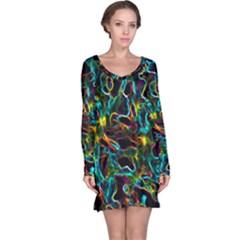 Soul Colour Long Sleeve Nightdresses