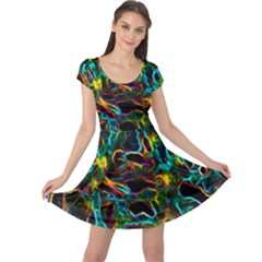 Soul Colour Cap Sleeve Dresses