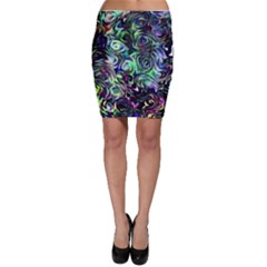 Colour Play Flowers Bodycon Skirts