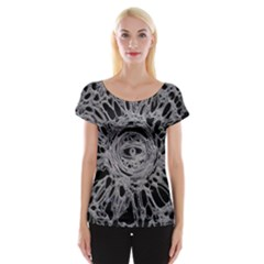 The Others 1 Women s Cap Sleeve Top