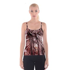 The Bleeding Tree Spaghetti Strap Tops