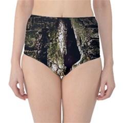 A Deeper Look High-Waist Bikini Bottoms
