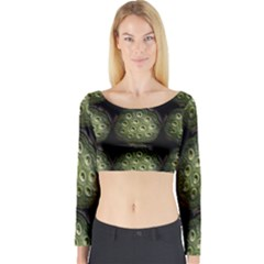 The Others Within Long Sleeve Crop Top