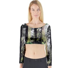 The Gathering Long Sleeve Crop Top