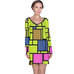 Squares and rectangles nightdress