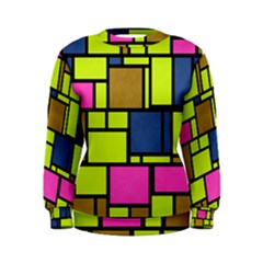 Squares and rectangles Sweatshirt