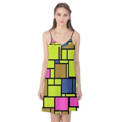 Squares and rectangles Camis Nightgown