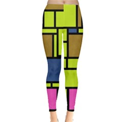 Squares and rectangles Leggings
