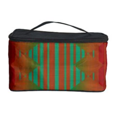 Striped tribal pattern Cosmetic Storage Case