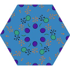 Circles and snowflakes Umbrella