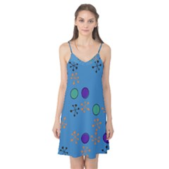 Circles and snowflakes Camis Nightgown