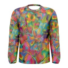 Colorful Autumn Men s Long Sleeve T-shirt