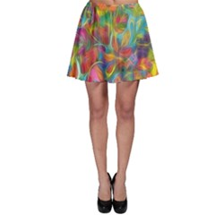 Colorful Autumn Skater Skirts