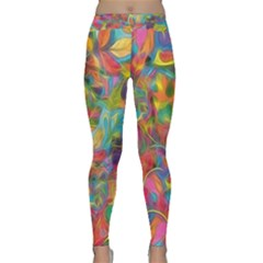 Colorful Autumn Yoga Leggings