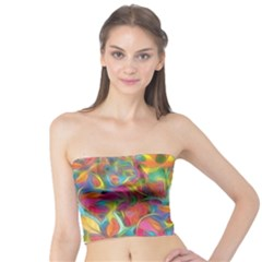 Colorful Autumn Women s Tube Tops