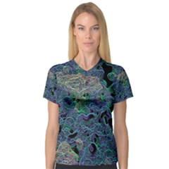 The Others 2 Women s V-Neck Sport Mesh Tee