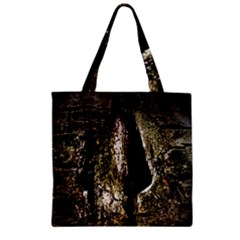 A Deeper Look Zipper Grocery Tote Bags