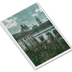 Colonial Architecture At Historic Center Of Bogota Colombia Large Memo Pads