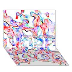 Soul Colour Light HOPE 3D Greeting Card (7x5)