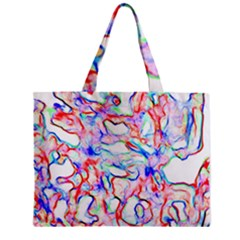 Soul Colour Light Zipper Tiny Tote Bags