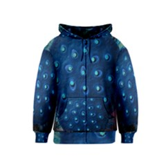Blue Plant Kids Zipper Hoodies