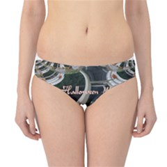 Creepy Pumpkin Fractal Hipster Bikini Bottoms