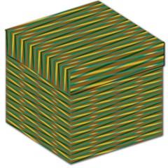 Diagonal stripes pattern Storage Stool