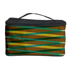 Diagonal stripes pattern Cosmetic Storage Case