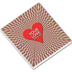 Your Love Moves Me Small Memo Pads
