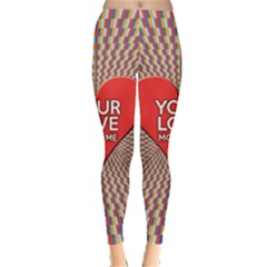 Your Love Moves Me Women s Leggings