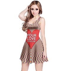 Your Love Moves Me Reversible Sleeveless Dresses