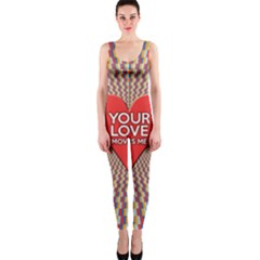 Your Love Moves Me OnePiece Catsuits
